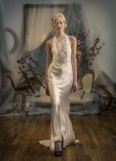 Elizabeth Filmore's Elegant and Sophisticated Spring 2016 Bridal Collection