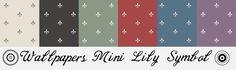 Morandi Sisters Microworld: Printable Wallpapers - Mini Lily Simbol - Carte da parati Stampabili#more