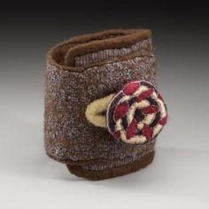 Bracelets Archives - Strongfelt Wet Felting Projects, Free Motion Embroidery, Cotton Thread, Buttonholes, Silk Fabric, Hand Stitching, Merino Wool, Cuff Bracelets, Jewelry