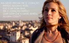 """""""I wanna go someplace where I can marvel at something."""" Julia Roberts as Liz Gilbert ~ Eat Pray Love Elizabeth Gilbert, Liz Gilbert, Eat Pray Love Movie, Come Reza Ama, When Youre Feeling Down, Travel Movies, Inspirational Movies, Actress Pics, Victoria"""