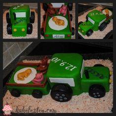 Traktorkake med henger