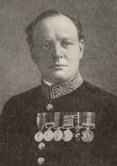 Among Churchill's honors are 37 orders, decorations and medals received between 1885 and 1963.