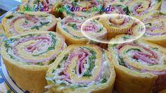 Roulé jambon salade au Thermomix