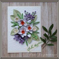 ***Квиллинг- волшебство бумажных полосок!*** Paper Quilling Designs, 3d Quilling, Quilling Paper Craft, Quilling Flowers, Quilling Cards, Paper Flowers, Fun Crafts, Paper Crafts, Quilled Creations