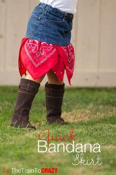 Bandana-skirt