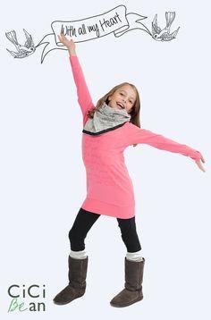 CiCI Bean - clothing for tween girls. | Shop online at www.peekaboobeans.com/candina