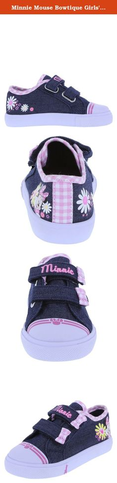 Focus Minnie Girls Synthetic Material Trainers Black//Fuchsia