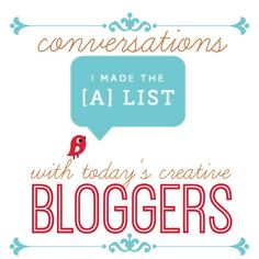 Conversations with Today's Creative Bloggers {Amy Anderson} - Todays Creative Blog
