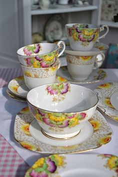 Art Deco Style Tea Set