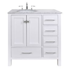 Picture Gallery For Website Shop KraftMaid Nordic in x in White Casual Bathroom Vanity at Lowes Girls bathroom Pinterest Girl bathrooms Bathroom vanities and Lowes
