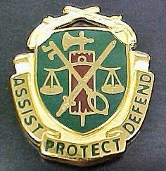 Regimental Crest Military Police (MP)