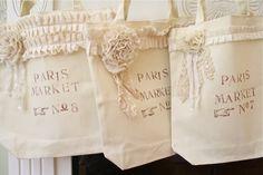 The Polka Dot Closet: French Market Bags