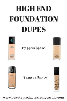 High End Foundation Dupes - makeup_full_pintennium Beauty Hacks Skincare, Beauty Dupes, Beauty Makeup Tips, Beauty Tricks, Drugstore Makeup Dupes, Makeup Swatches, Mac Makeup, Makeup Hacks, Makeup Brush Dupes