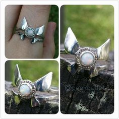 Sterling silver and opal Navi ring? Yes please.