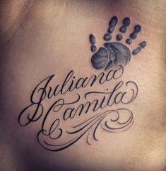 Tatuajes Dedicados A Los Hijos Fotos Ideas Bebe Baby Name