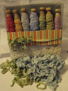 Sara's Creative Adventures: A Candy Break, wrinkled seam binding...