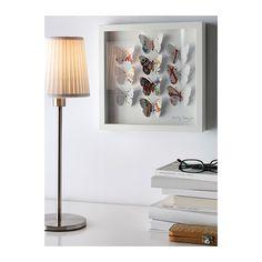 OLUNDA Taulu IKEA Kuva: Phil Sheffield. Taulu saa syvyyttä leikatuista ja auki taitetuista kuvioistaan.