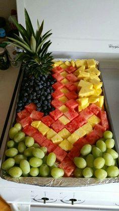 Minecraft sword fruit tray