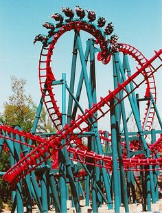 This summer i want to face my fear of roller coasters, and heights and go on the Thunderhawk at MI Adventures.