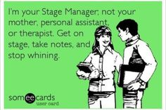 Stage managers