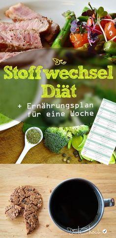 Mit dieser Diät, kann man seinen Stoffwechsel anregen. Das Konzept der Stoffwechseldiät ist beliebt und bei den Anwendern meist sehr erfolgreich. Der Ernährungsplan zeigt, was man so essen darf.