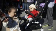 File photo: Chinese children are seen in a park in Beijing, China, 30 October 2015