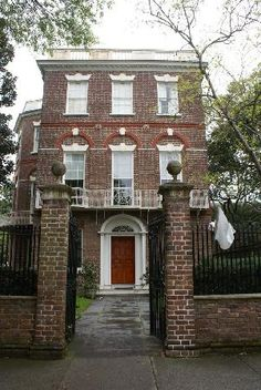 Nathaniel Russell House.  In my top two for home tours in Historic District Charleston SC.