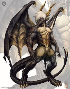 "This is a dragon, but could be used as inspiration for some kind of lizard.-- Animaniac ""I am a dragon! Dragons didn't even exist before! I AM AMAZ-ING"" Fantasy Races, Fantasy Warrior, Dragon Warrior, Male Furry, Furry Art, Character Inspiration, Character Art, Character Design, Mythological Creatures"