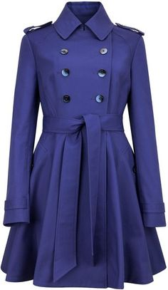 Ted Baker Moriah Double Breasted Coat - Lyst