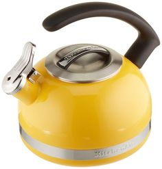 KitchenAid Kettle with C Handle and Trim Band - Citrus Sunrise in Kitchen & Dining in Kitchen & Dining > Cookware > Teakettlesby KitchenAid