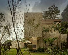 moderne Villa mit Pool-in Hügellandschaft Rio de Janeiro