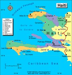 Haiti Atlas: Maps and Online Resources | Infoplease.com