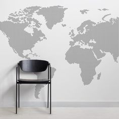 Free hd political world map poster wallpapers download world map grey dotted world map wall mural muralswallpaper gumiabroncs Image collections
