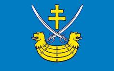 Staszów county flag