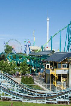 Cedar Point Amusement Park in Sandusky Ohio is for all roller-coaster lovers.