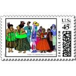 Women of the World Stamps (set of 8)