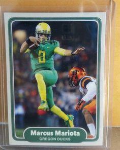 Marcus Mariota Oregon ducks custom card 2015 #1 draft pick Heisman winner 2014 $