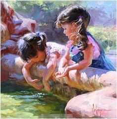 Oil painting by Volegov