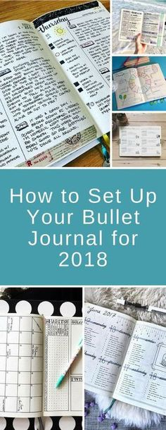Setting Up Your Bullet Journal - From daily spreads and weekly logs to indexes and collections here is everything you need to get started with your #bujo #bulletjournal