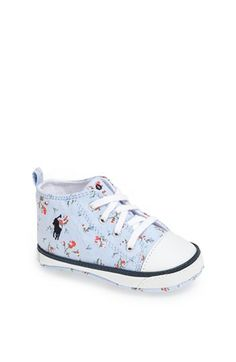 Ralph Lauren Layette High Top Sneaker (Baby) available at #Nordstrom