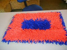 Image result for tapete de tirinhas de malha