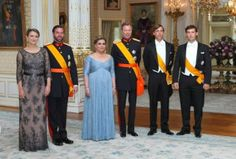 Luxarazzi:  National Day Gala, June 23, 2014-HGD Stéphanie, HGD Guillaume, GD Maria Teresa, GD Henri, Prince Louis and Prince Sébastien