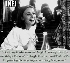 Audrey Hepburn INFJ. LX