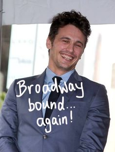 James Franco will be making his Broadway debut in Of Mice and Men.