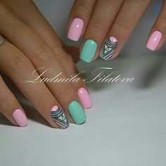 Nail and Nails trends Gel Nail trends These days, a flowery manicure may be a should for several women. Of course, the wonders that trendy gel manicure suggests area Nail Manicure, Gel Nail, Acrylic Nails, Coffin Nails, Nagellack Trends, Nails 2018, Super Nails, Nagel Gel, Nail Decorations