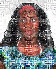 IKEA advertising banner #mosaic #advertising