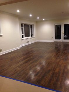 our living room FLOORS :) look amazing.