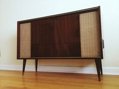 RESERVED 1960's Grundig Record Player/Stereo Console on Etsy, $750.00