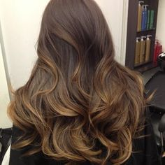 Graduated Ombre by Guy Tang... honey fused into platinum ends | Yelp