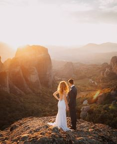 When you get to the top of this hill and realise this view is epic! Moment captured by in Meteora Greece